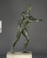 Apollo as an Archer (The Apollo Saettante), Roman, 100 B.C.—before A.D. 79. Courtesy of the Soprintendenza Speciale per i Beni Archeologici di Napoli e Pompei.