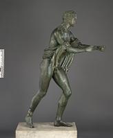 Apollo as an Archer (The Apollo Saettante), Roman, 100 B.C.—before A.D. 79. Courtesy of the Soprintendenza Speciale per i Beni Archeologici di Napoli e Pompei.