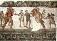 Mosaic from Dougga, Tunisia (Photo credit: Pascal Radigue via Wikipedia)