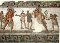 Mosaic from Dougga, Tunisia (Photo credit: Pascal Radigue via Wikipedia)