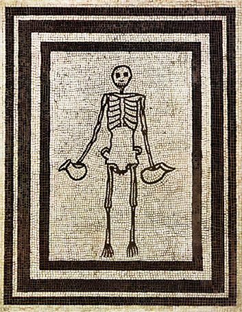 Pompeii-skeleton